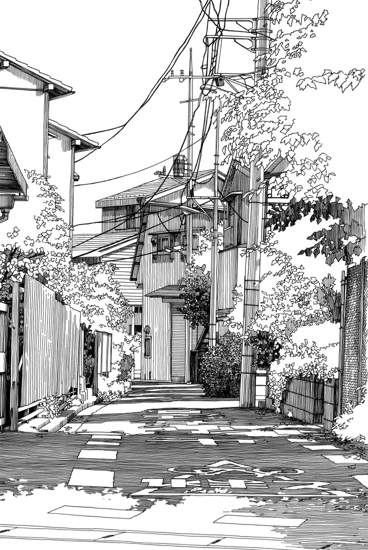 06-Kiyohiko-Azuma-Architectural-Urban-Sketches-and-Cityscape-Drawings-www-designstack-co
