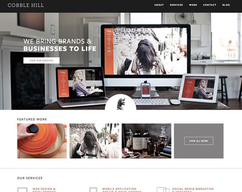 big images in web design