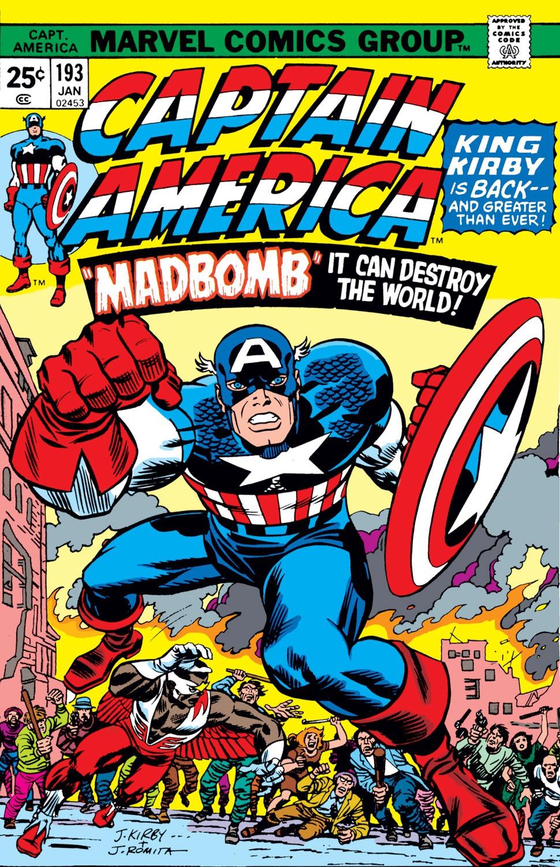Captain America (1968) Issue #193 #107 - English 1