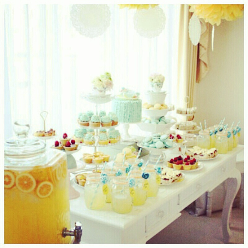 pastel parties baby shower ideas