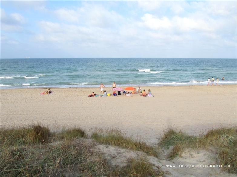 Playa El Saler #protecciónsolar