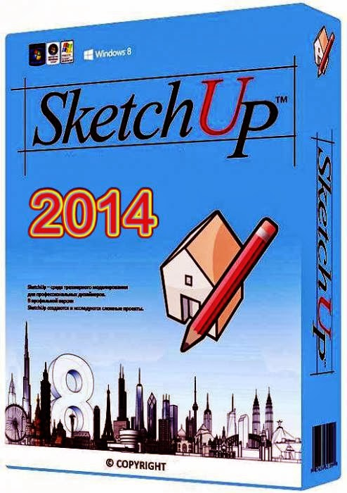 Google SketchUp Pro 2014 download baixar torrent