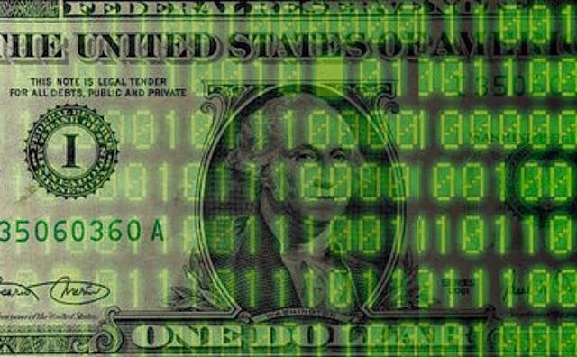 dollar digitized