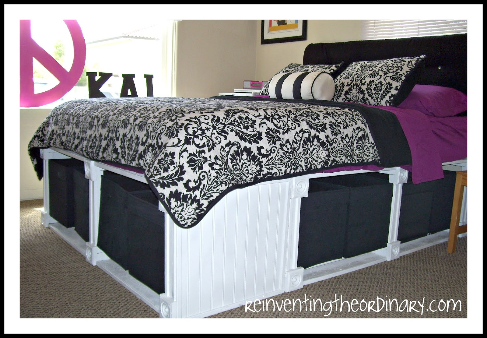 Diy platform bed with storage drawers plans discover woodworking projects - Plans for platform bed with storage drawers ...