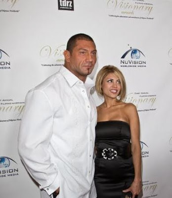 who is dave batista dating now