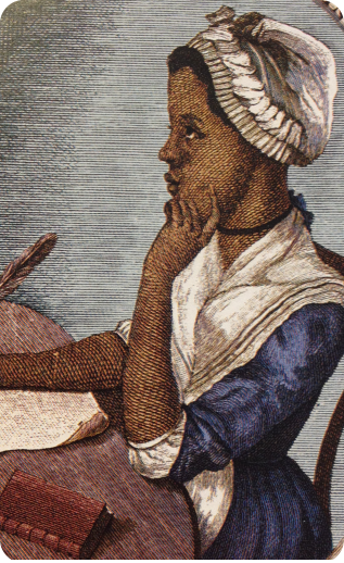 a biography of phillis wheatley the african american poet Phillis wheatley - wikipedia phillis wheatley, also spelled phyllis and wheatly (c 1753 †december 5, 1784) was the first published african-american female poet born in west africa, she was sold into slavery at the age of seven or eight and transported to north america.