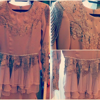 Baju nikah 2013 dari collection Fuzana Mokhtaza .