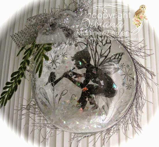 lavinia snow christmas ornament front