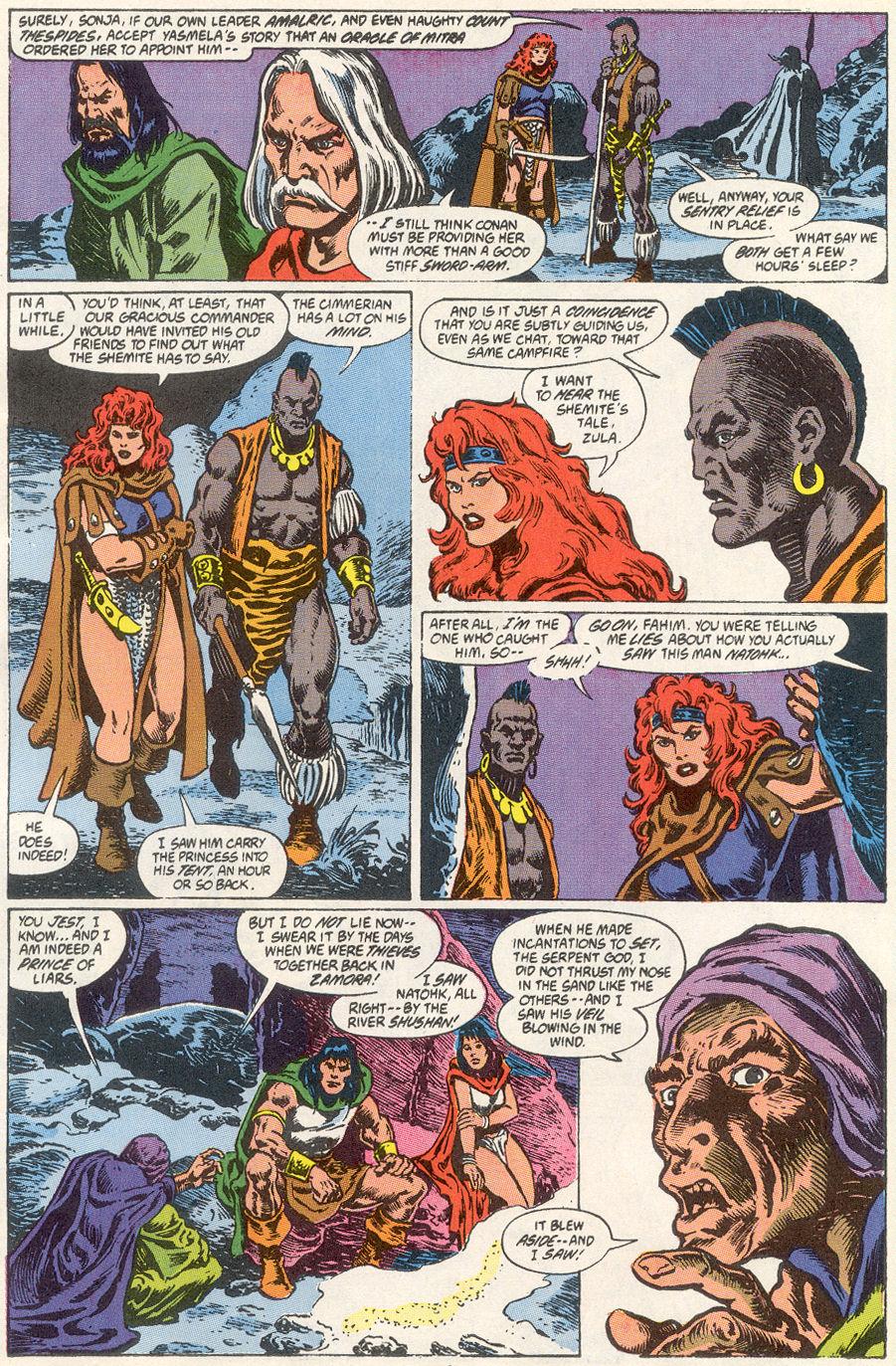 Conan the Barbarian (1970) Issue #249 #261 - English 5