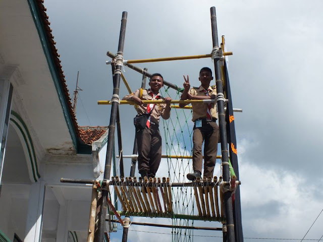 Menara pandang Pramuka