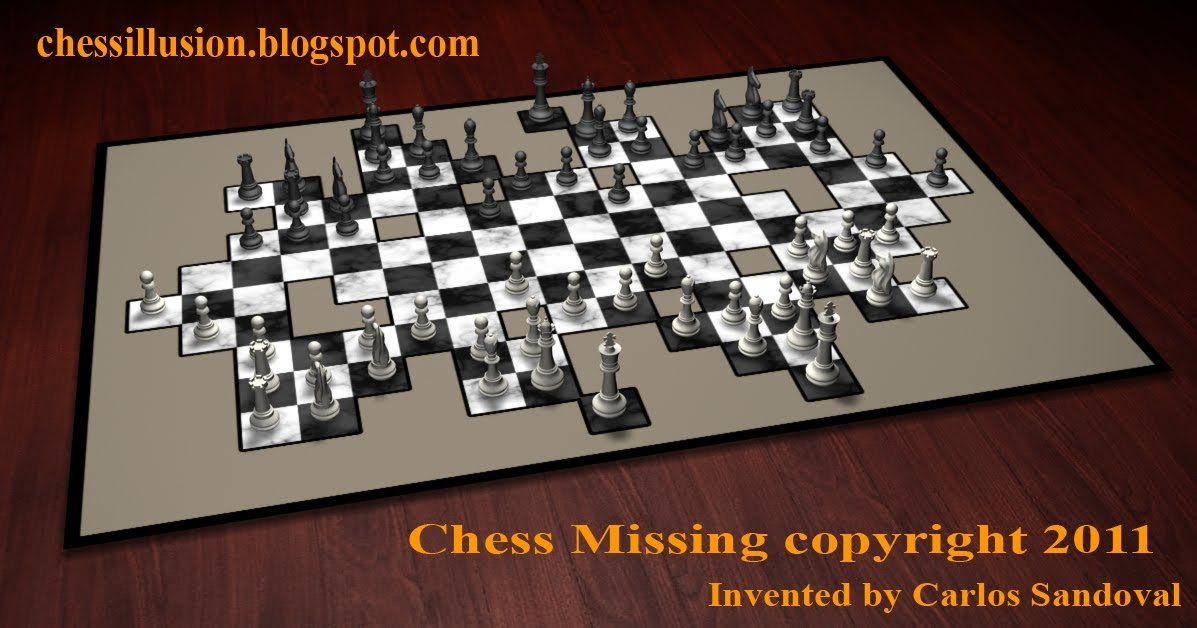 chess illusion  chess missing terrain chess