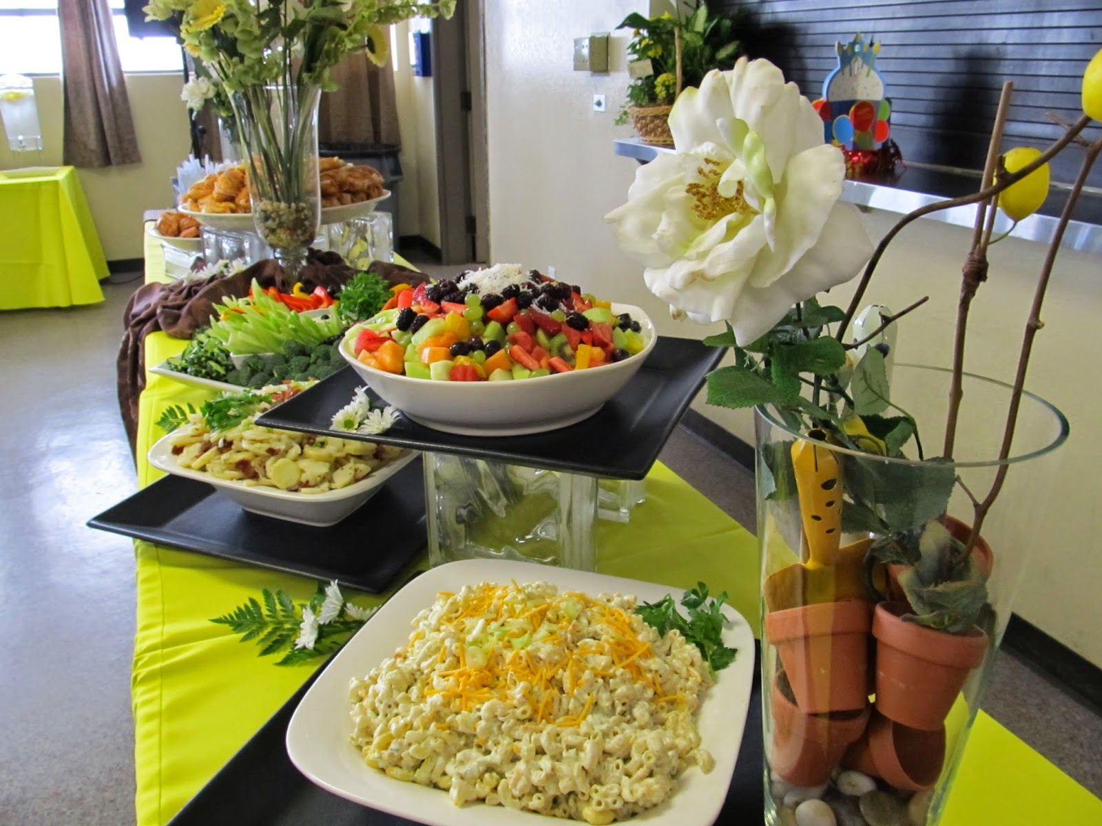 Fresh Ideas... : Catering 100th Birthday Party