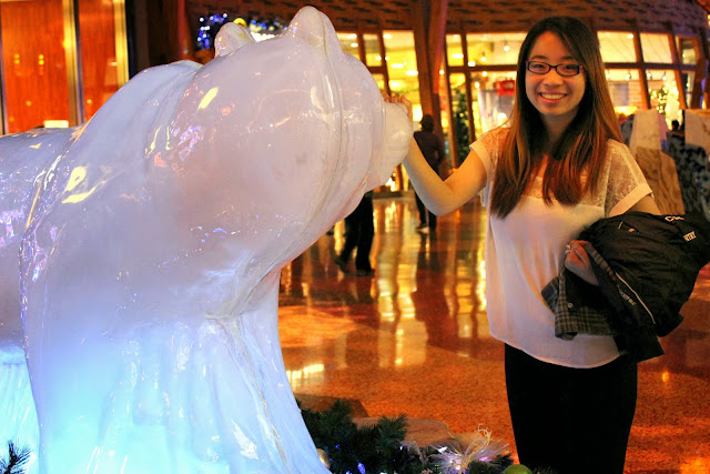 Mohegan Sun Ice Sculpture