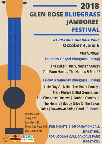 Fall Bluegrass Festival