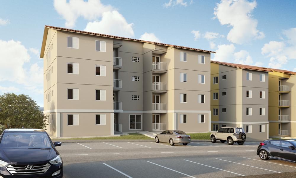 Apartamento em Francisco Morato finaciado pela Caixa