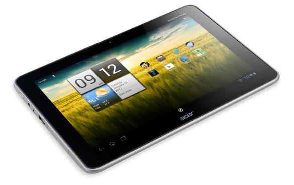 Acer Iconia Tab A210 - Full tablet specifications/SPECS