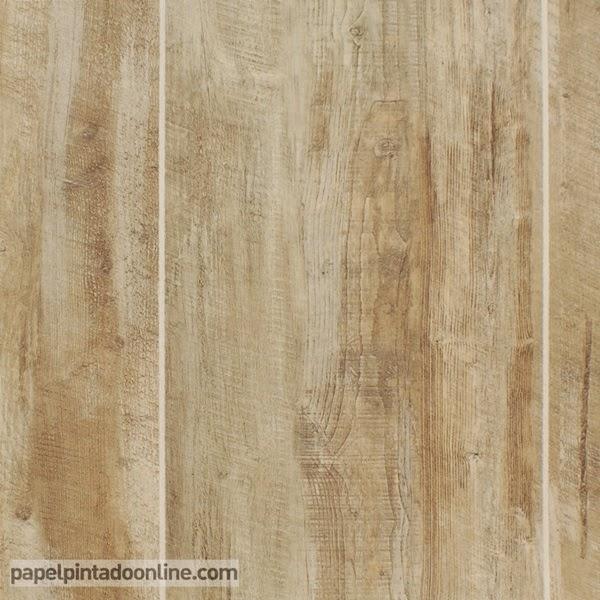 Papel pintado papeles pintados baratos maderas piedras y damascos - Papel pintado madera ...