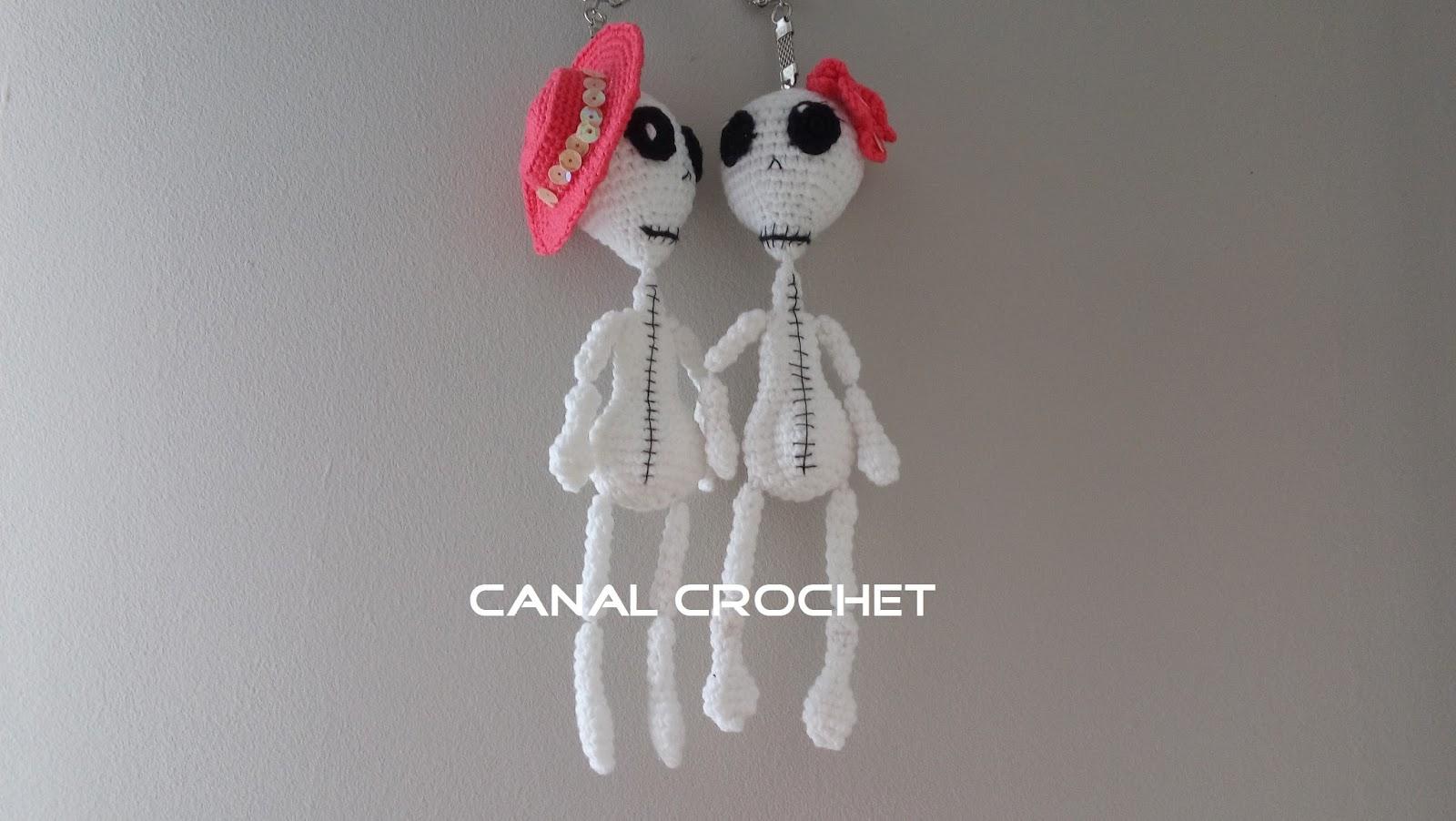 CANAL CROCHET: Decoración halloween amigurumi patrón libre