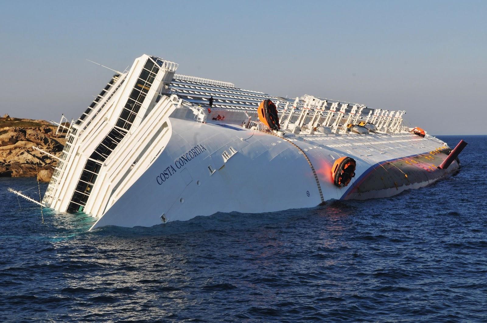 Mono Ships U0026 Shipwrecks Costa Concordia In Memoriam