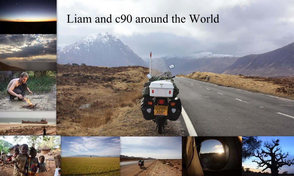 Liam and c90 around the World