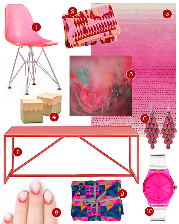 20 pink finds for the home