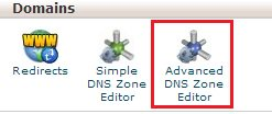 Advance Zone editor cpanel qwords
