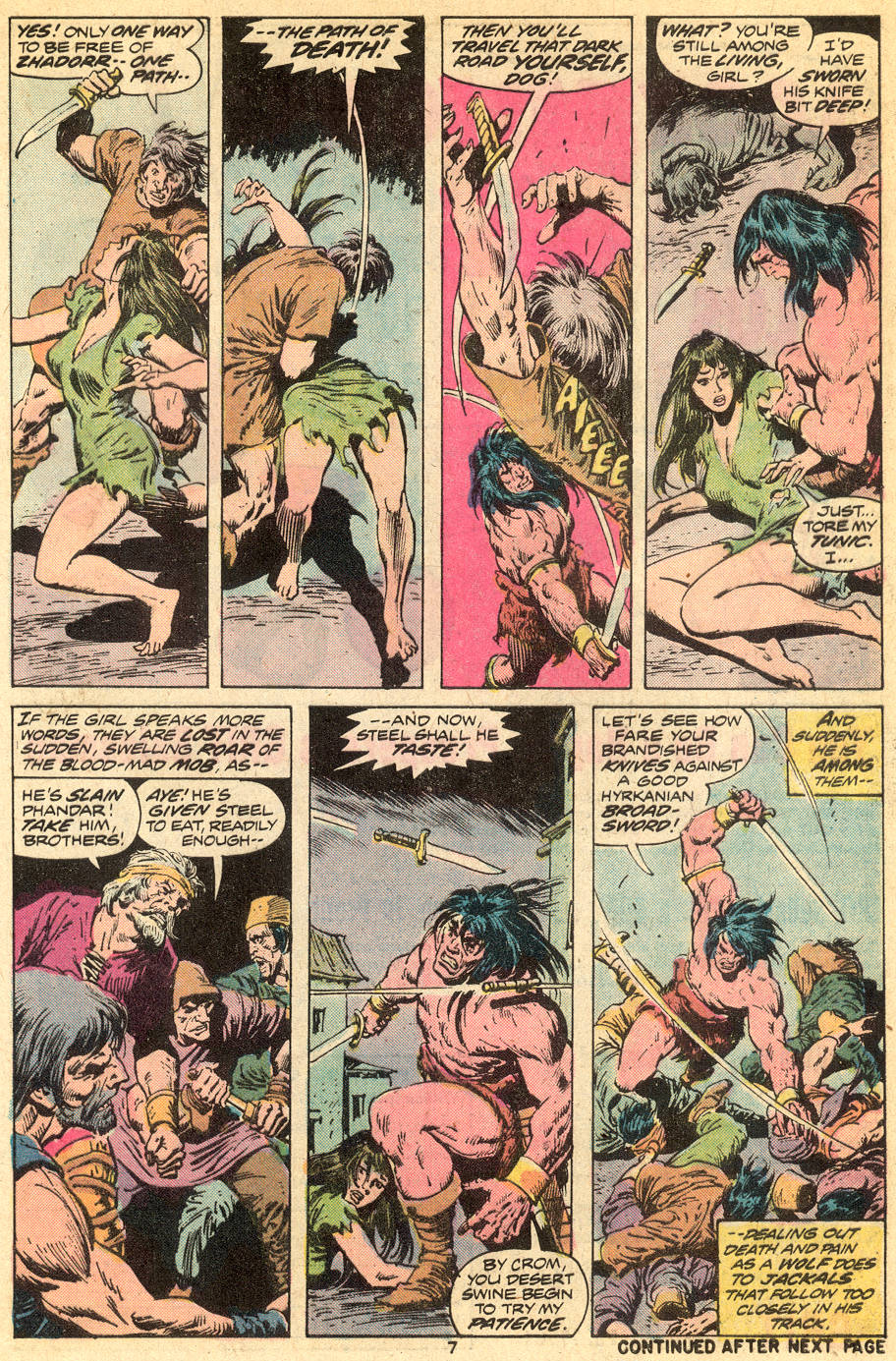 Conan the Barbarian (1970) Issue #41 #53 - English 6
