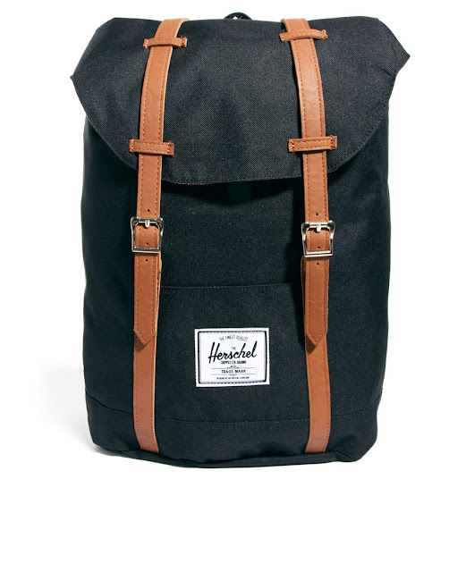 navy herschel backpack