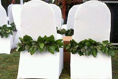 Sillas para boda decoradas con flores for Sillas para quinceaneras decoradas