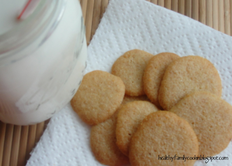 Healthy Family Cookin': Homemade Vanilla Wafers (Sugar Free)