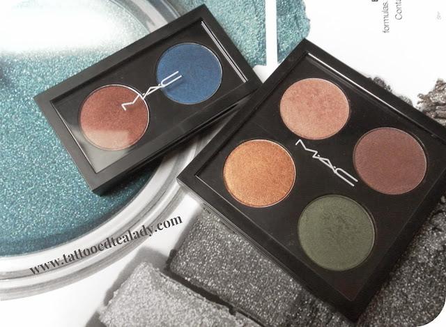 MAC eyeshadow haul + swatches