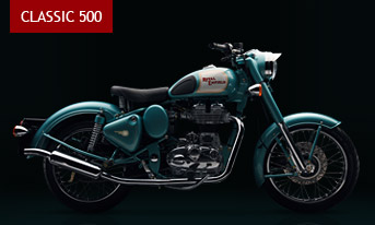 The Classic 500 comes to India. Armed with a potent fuel injected 500cc engine and clothed in a disarmingly appealing post war styling, this promises to be the most coveted Royal Enfield in history.