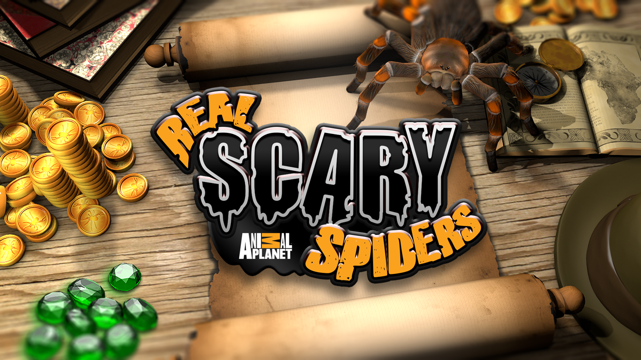 Real Scary Spiders v1.2.3 [Unlimited Gold/Gems] APK+DATA