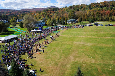 Quadcopter photo of Vermont Pumpkin Chuckin' Festival