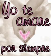 Frases De Amor: Yo Te Amaré Por Siempre