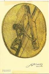 Dibujo realizado por San Juan de la Cruz