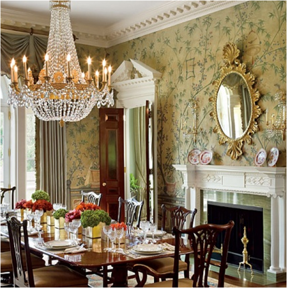 English country dining room design ideas room design ideas for Country dining room design ideas