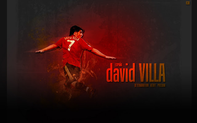 wallpaper David Villa