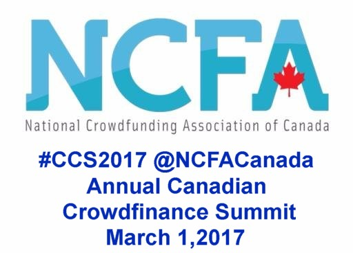 March 1, 2017 Annual Canadian Crowdfinance Summit
