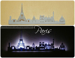 Paris Skyline Lamp     wesens-art.blogspot.com