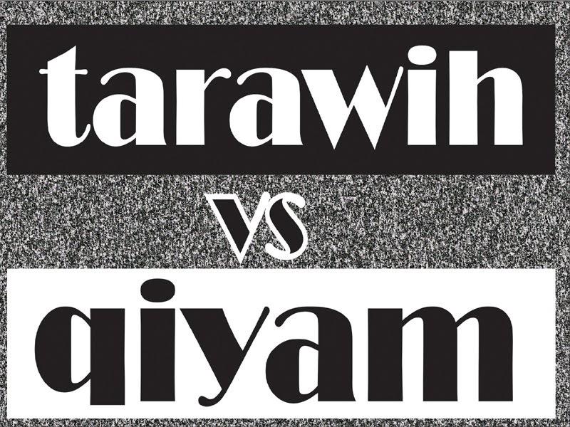 Apakah Ada Perbedaan Antara Shalat Tarawih Dengan Shalat ...