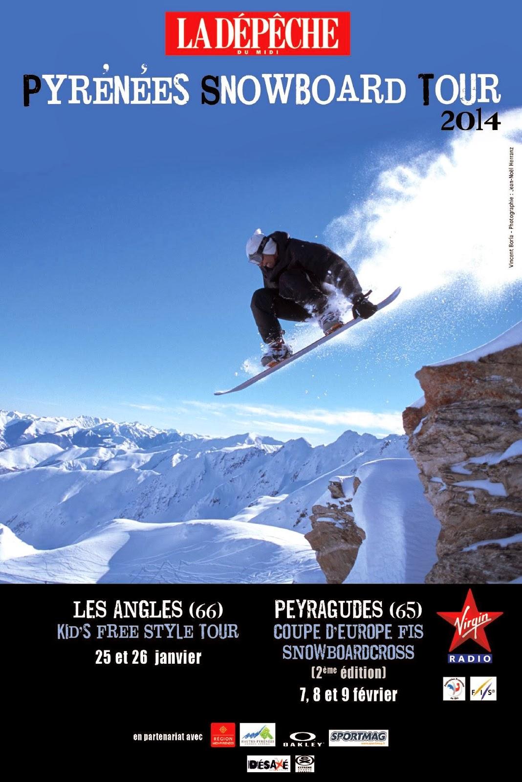 Pyrénées snowboard tour 2014 Les Angles