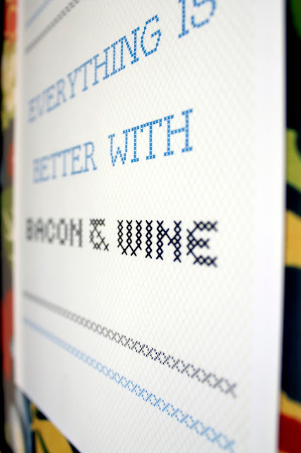 everything is better with bacon and wine free printable