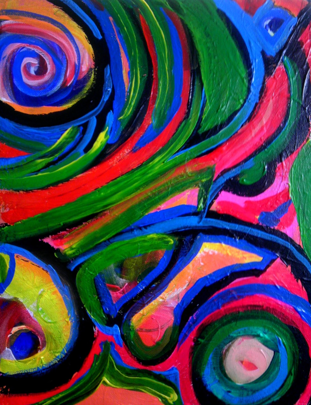 Bright Colorful Paintings | www.imgkid.com - The Image Kid ...