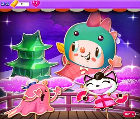 candy crush saga dreamworld 266-380