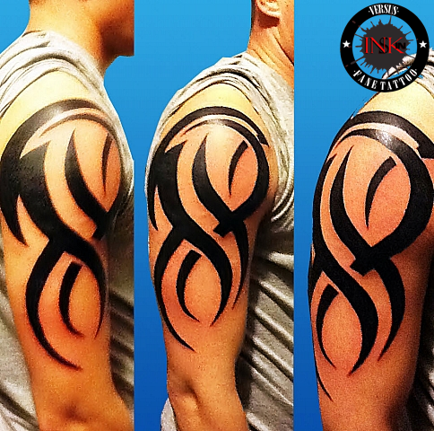 tribal tatuat pe brat