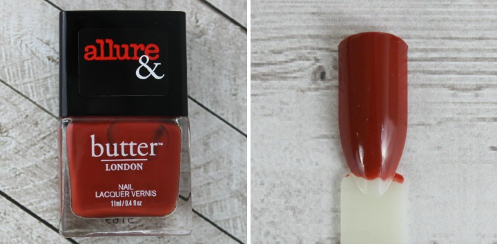 Allure & Butter London Arm Candy Nail Lacquer Collection review swatches IT'S VINTAGE
