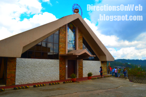 Immaculate Concepcion Church Baguio is one jeepney ride from Harrison or Session Rd