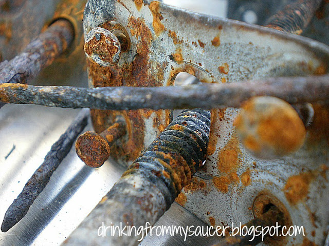 rusted hardware