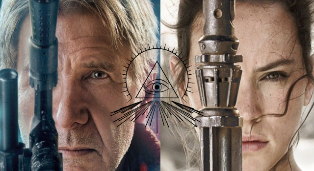 The Illuminati Symbolism Behind the New Star Wars Posters